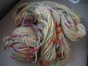 rainbow yarn 2